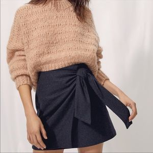 💕Wilfred Artizia Wrap Front Wool Cashmere Skirt💕